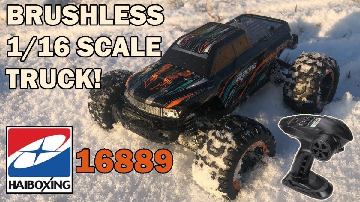 HAIBOXING 16889 Внедорожник Brushless MonsterTruck RC Car RTR