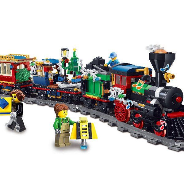 Конструктор Leier 20001 Різдвяний поїзд