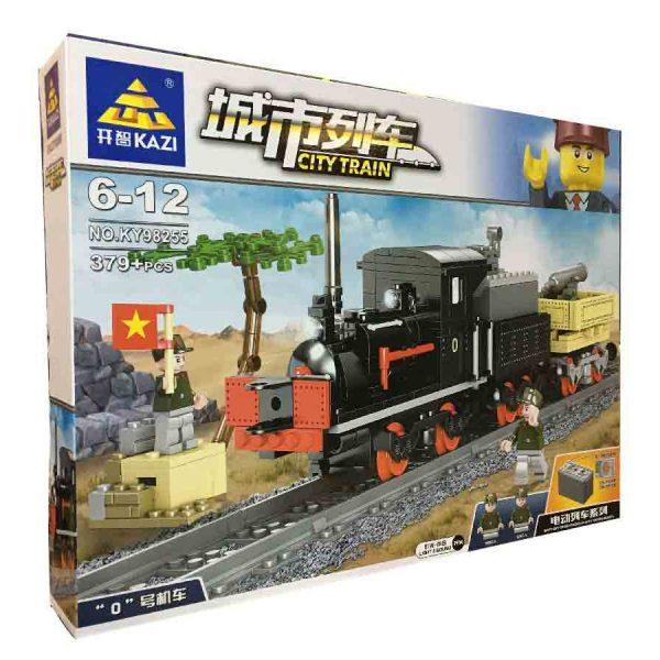 Конструктор Kazi 98255 Электрический поезд