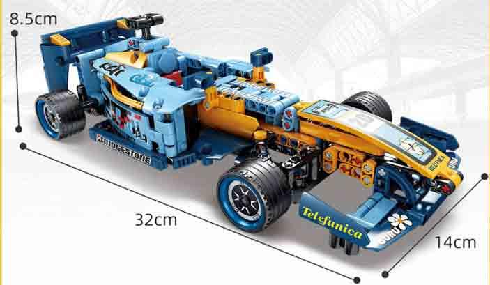 Конструктор Kazi 1017 Болід для Формули-1 Renault R25