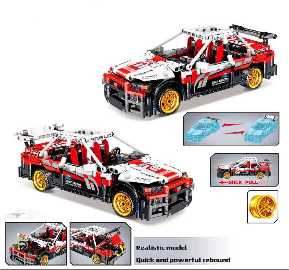 Конструктор Kazi 1020 Спортивный автомобиль