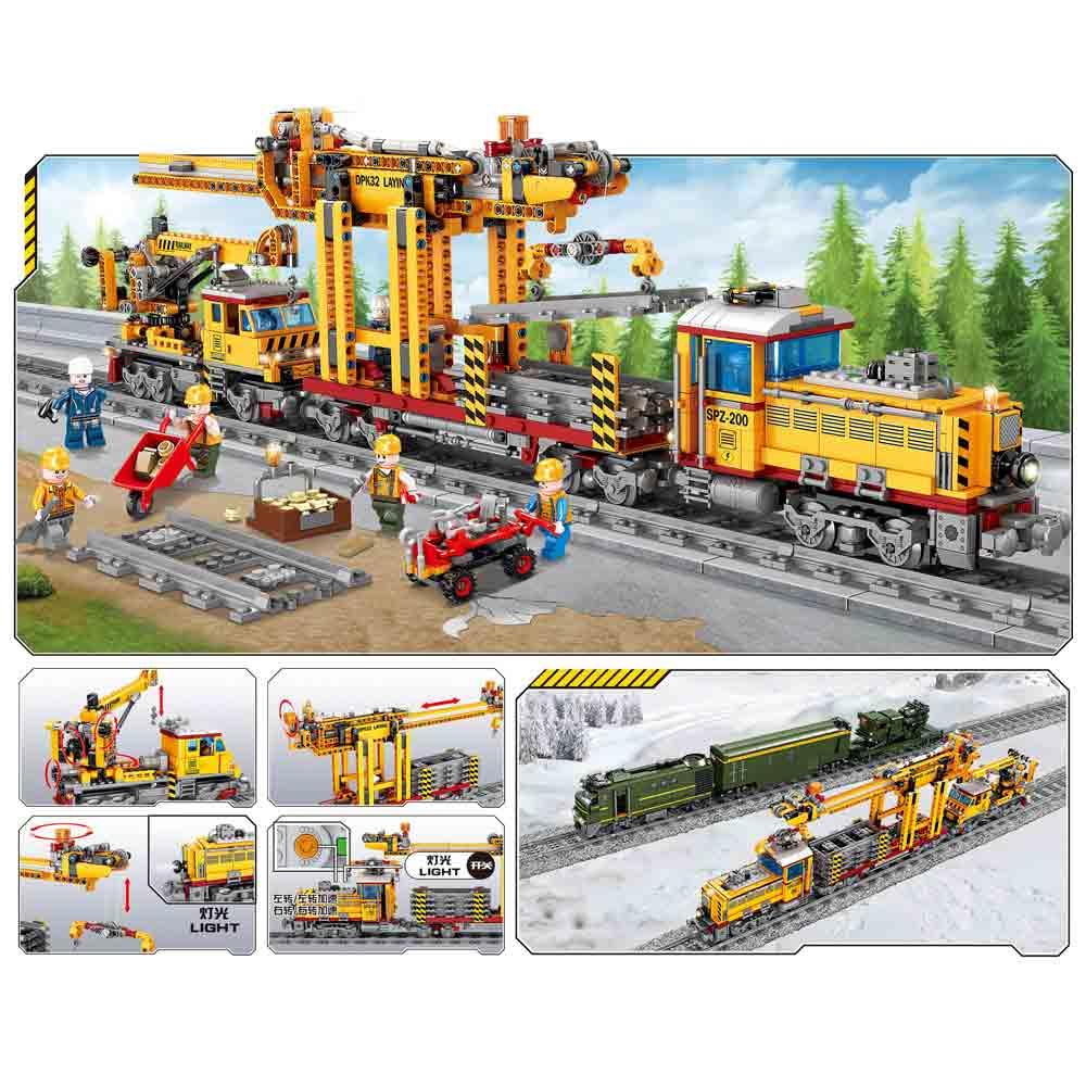 Конструктор Kazi 98253 Электрический поезд