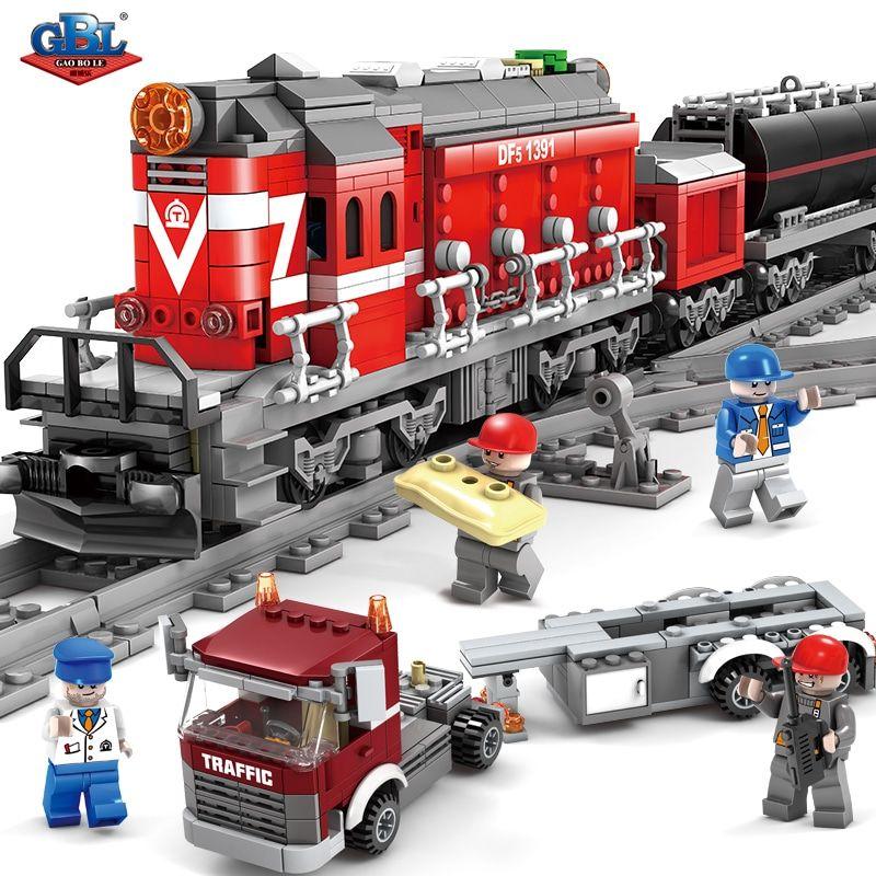 Конструктор Kazi 98219 «Вантажний поїзд»