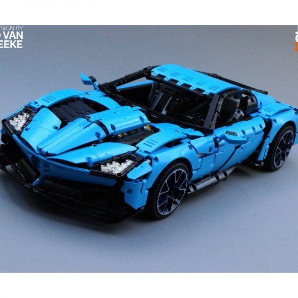 Конструктор Leier J906 Corvette Grand Sport (Корвет Гранд Спорт)