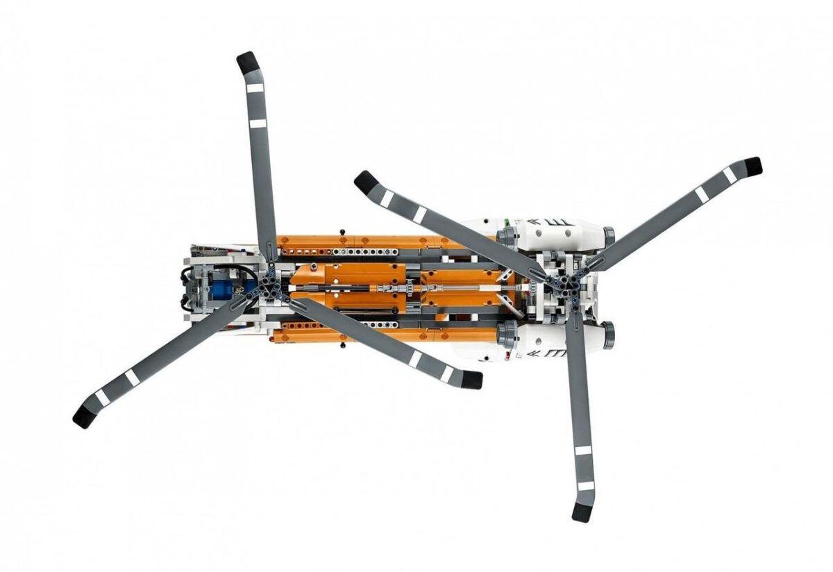 """Конструктор Lepin 20002, """"Вантажний вертоліт"""""""