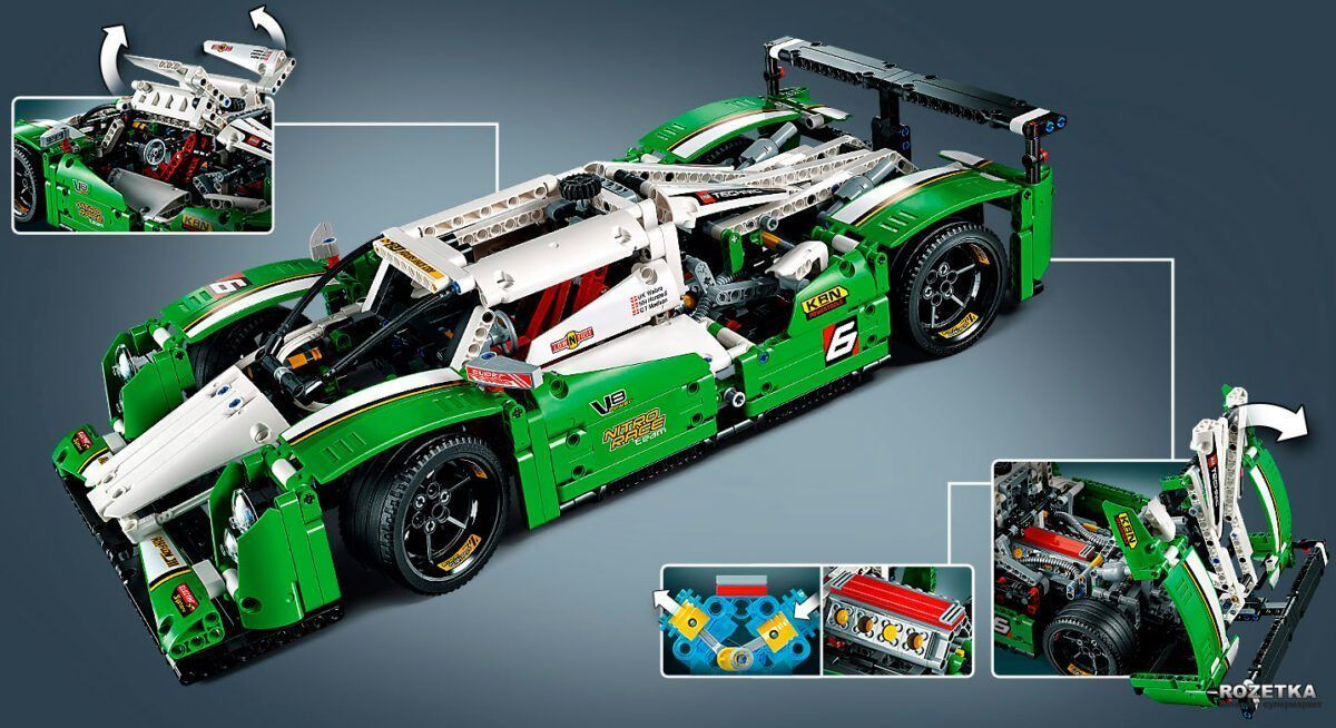 Конструктор Lepin 20003B 24 Hours Race Car Технік