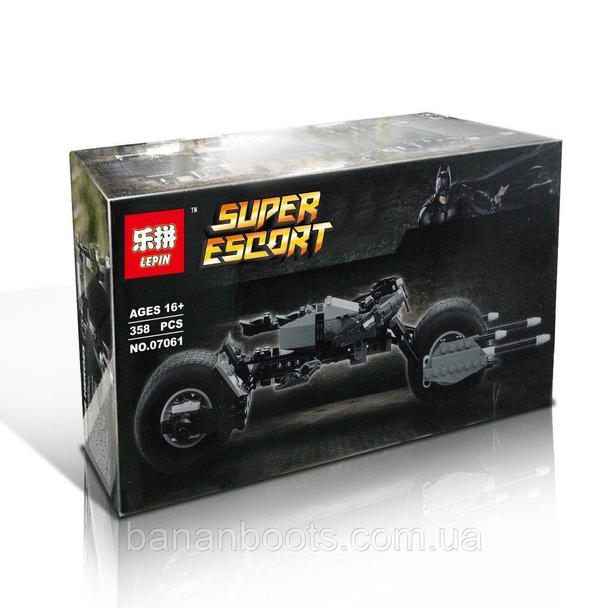 Конструктор Lepin 07061 Мотоцикл Бетмена