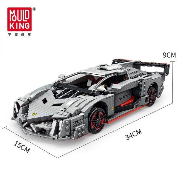 Конструктор Mould King 13110 Спортивный автомобиль Lamborghini Veneno