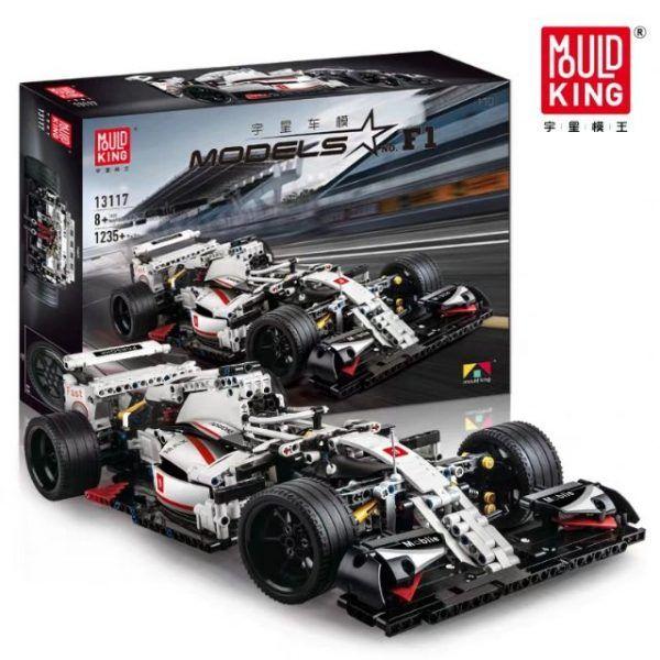 Конструктор MOULD KING 13117 «Гоночный автомобиль Formula One F1»