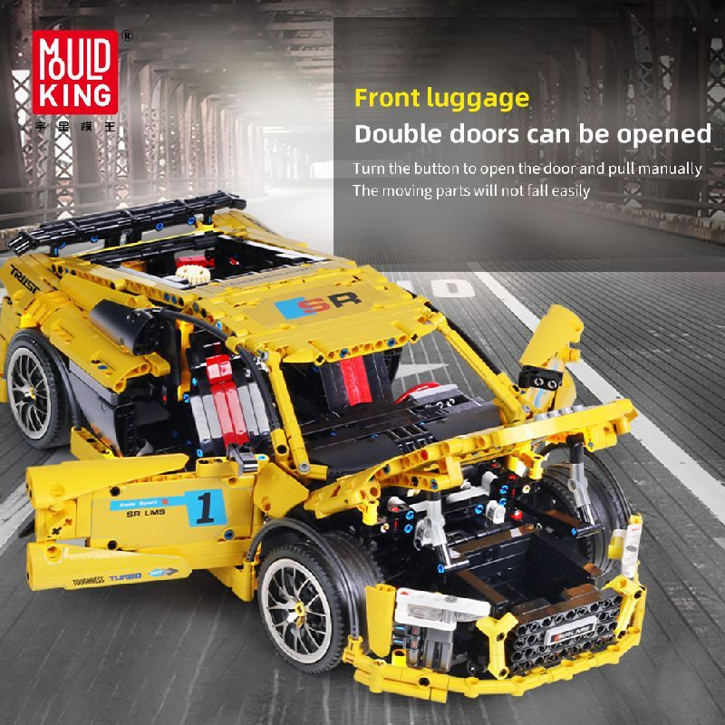 Конструктор MOULD KING 13127 Спортивный автомобиль Audi R8 V10