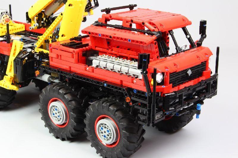 Конструктор MOULD KING 13146 Лесовоз «Articulated Logging Truck» на дистанционном управлении