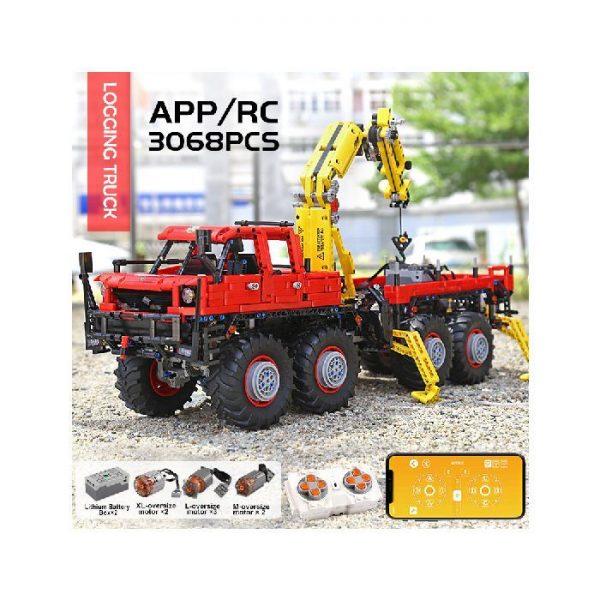 Конструктор MOULD KING 13146 Лісовоз «Articulated Logging Truck» на дистанційному управлінні