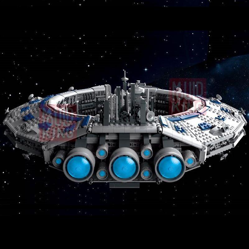 Конструктор Mould King Star Wars 21008  Линкор класса Lucrehulk (корабль управления дроидами)