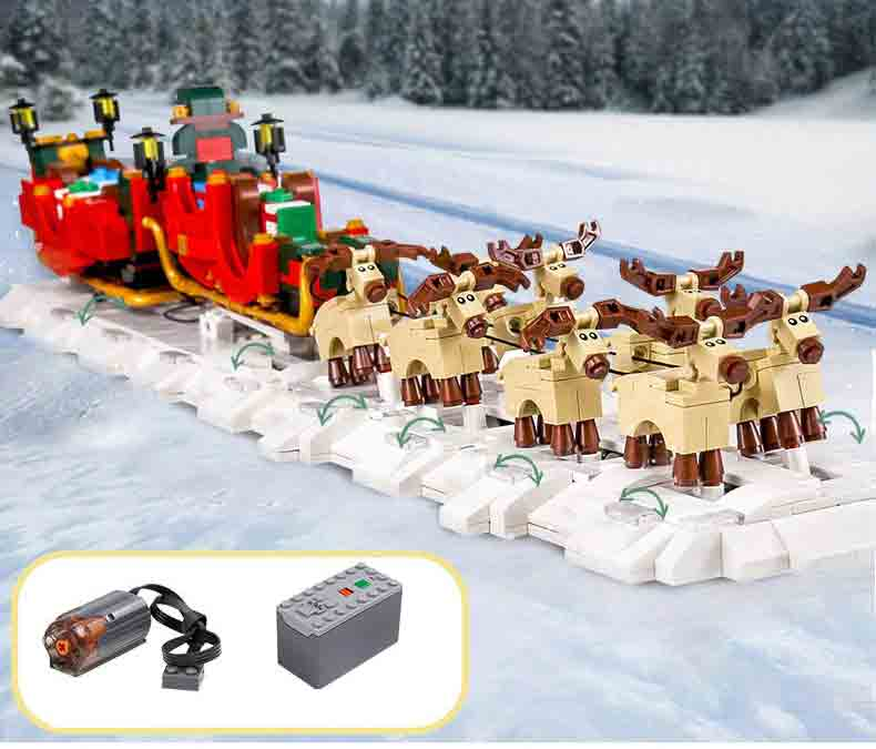 Конструктор MOULD KING 10015 «The Christmas Motorized Santa Letra»