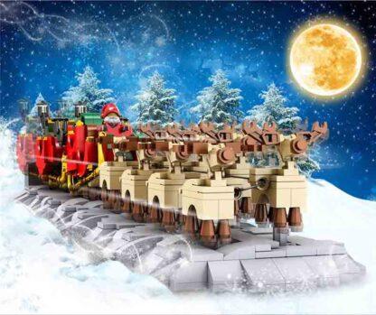 Mould King 10015 Рождественский Санта-Клаус