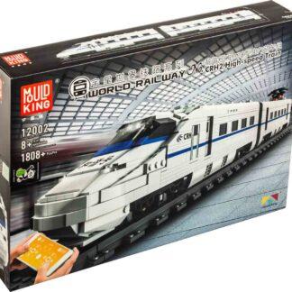 Mould King 12002 Высокоскоростной поезд