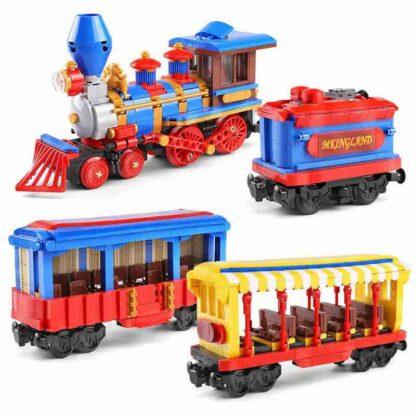 Mould King 12004 Поезд мечты