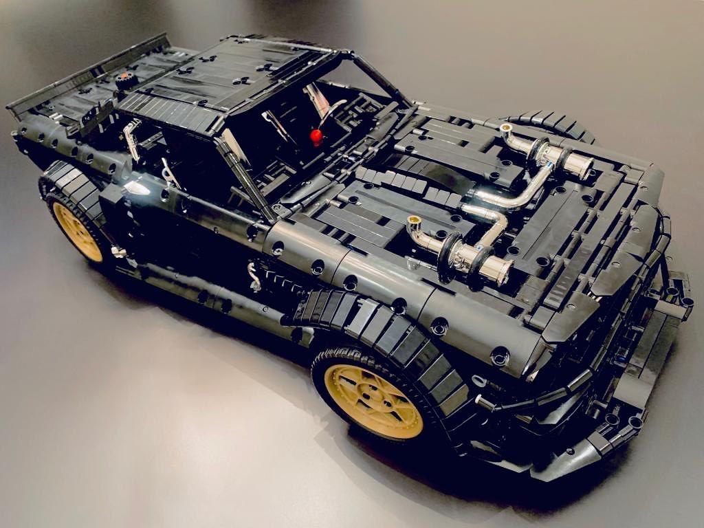 QIZHILE 23009 автомобіль Форд Мустанг Hoonicorn V2