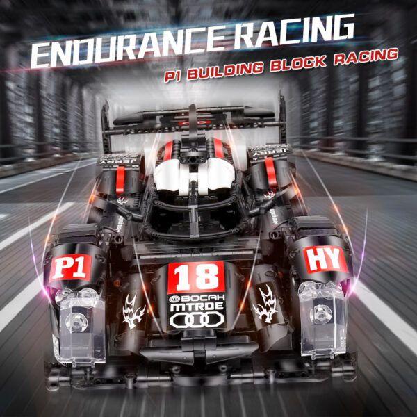 QIZHILE 23011 гоночный автомобиль Audi R18 E-Tron Quattro