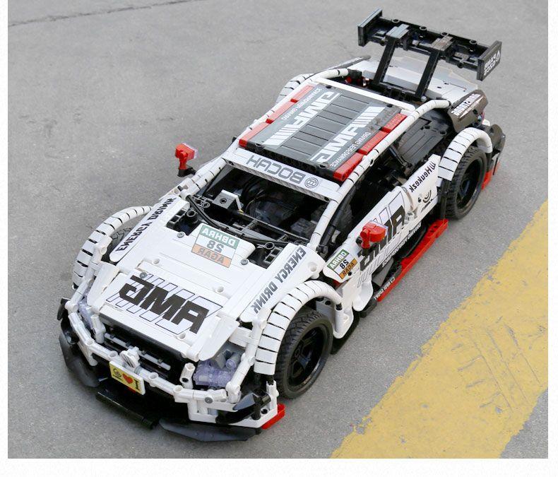 QIZHILE 23012 автомобіль QIZHILE 23012 Mercedes-Benz AMG C63 DTM White 1:10