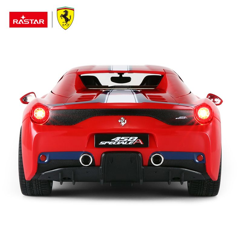 "Rastar 74560 Радиоуправляемая машинка ""Ferrari 458 Vermelho Scale"""