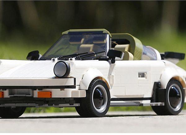Конструктор Mould Kung 13103 «Спортивный автомобиль «White Porsche»
