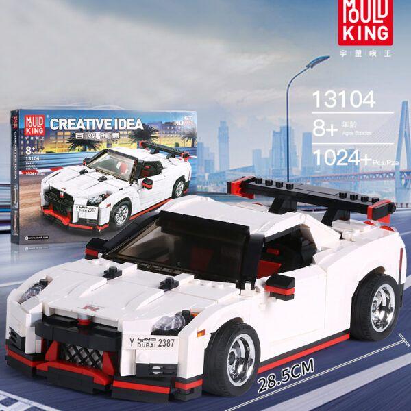 Конструктор MOULD KING Creative Idea 13104 «Спортивний автомобіль «Nissan»