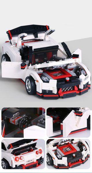 Конструктор MOULD KING Creative Idea 13104 «Спортивный автомобиль «Nissan»
