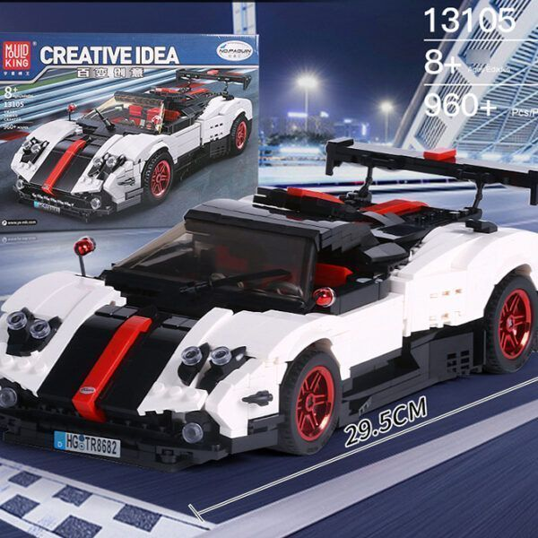 Конструктор MOULD KING Creative Idea 13105 «Спортивный автомобиль «Pagani Zonda Cinque»