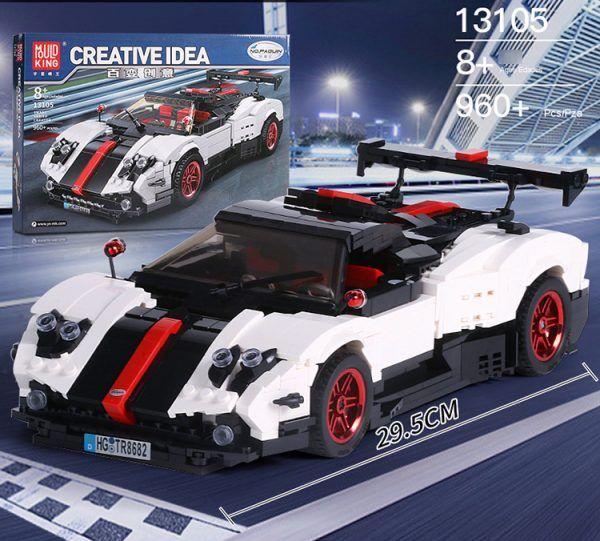 Конструктор MOULD KING Creative Idea 13105 «Спортивный автомобиль «Pagani Zonda Cinque»