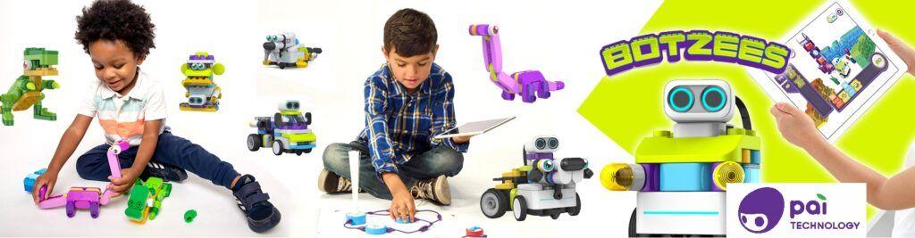 В продаже появились Botzees — роботы-конструкторы для самых маленьких