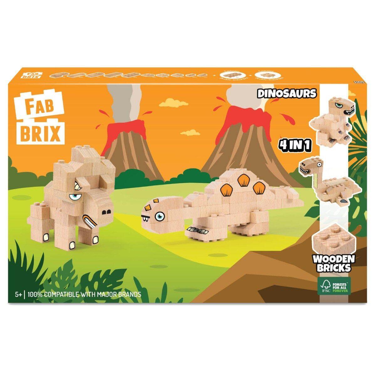 Конструктор FabBRIX JG 1817 Dinosaurs  (Динозаври)