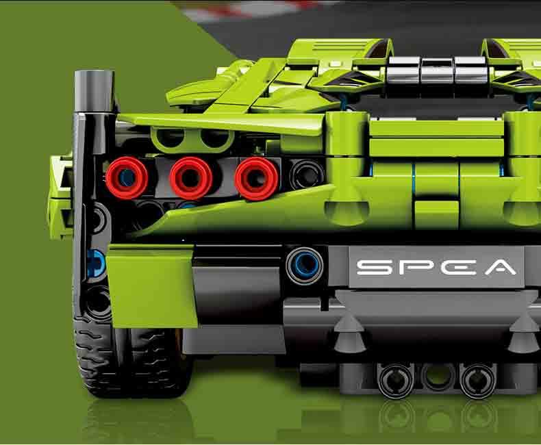 Конструктор  Mold King 10011 Гиперкар Lamborghini Sian