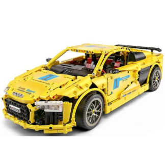 Дитячий конструктор-MOULD-KING-13127-Спортивний-автомобіль-Audi-R8-V10