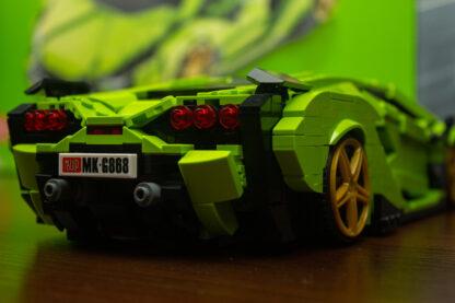 """Конструктор Гіперкар """"Ламборджіні Сіен Lamborghini Sian"""" Mold King 10011"""