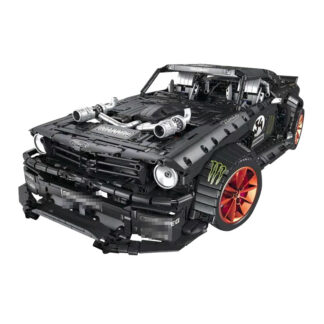 "Конструктор ""Форд Мустанг ""Ford Mustang Hoonicorn RTR V2 RC APP"" MOULD KING 13108"
