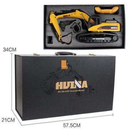 Экскаватор на радиоуправлении HUINA 1580 Luxury Edition