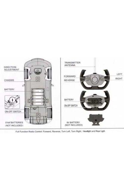 Машинка на радиоуправлении Rastar 70710 Porsche 918 Spyder