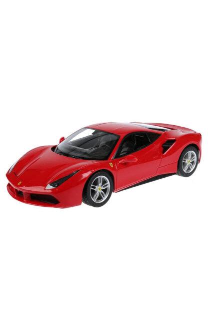 Машинка на радиоуправлении Rastar 79800 с очками VR Ferrari 488 GTB