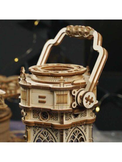 """Конструктор дерев'яний 3D Robotime AMK61 """"Вікторіанський ліхтар"""" музична шкатулка"""