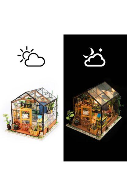 """Ляльковий будиночок своїми руками Robotime DG104 """"Зимовий сад Кеті"""""""