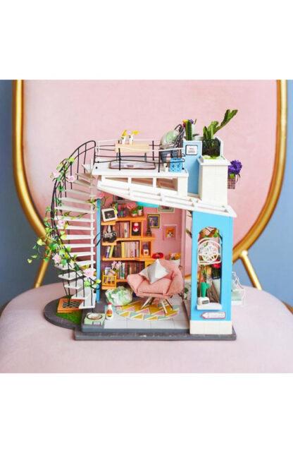 """Ляльковий будиночок своїми руками Robotime DG12 DIY """"Квартира Дори"""""""
