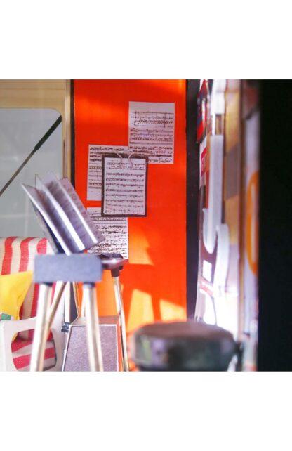 """Ляльковий будиночок своїми руками Robotime DG13 """"Студія Кевіна"""""""