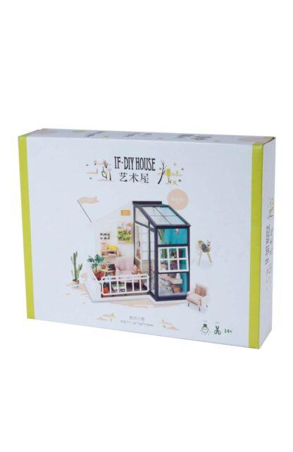 """Кукольный домик своими руками Robotime DGM05 """"Балкон мечты"""""""