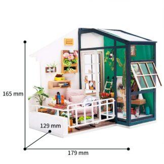 """Ляльковий будиночок своїми руками Robotime DGM05 """"Балкон мрії"""""""