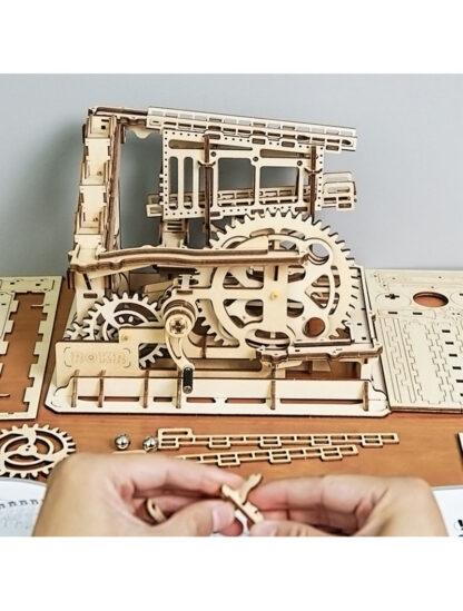 Конструктор дерев'яний Robotime LG502 MarbleSquad – Trapdoors