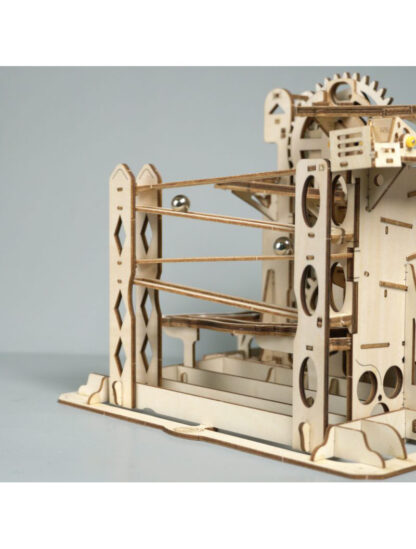 Дерев'яний конструктор Robotime LG503, 3D пазли, механічні головоломки