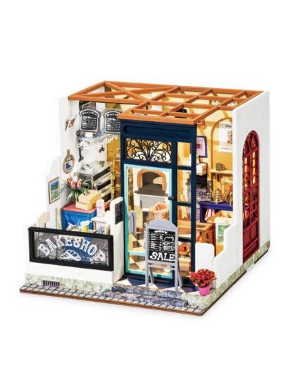 """Мініатюрний будиночок своїми руками Robotime DG143 """"Магазин випічки Ненсі"""""""