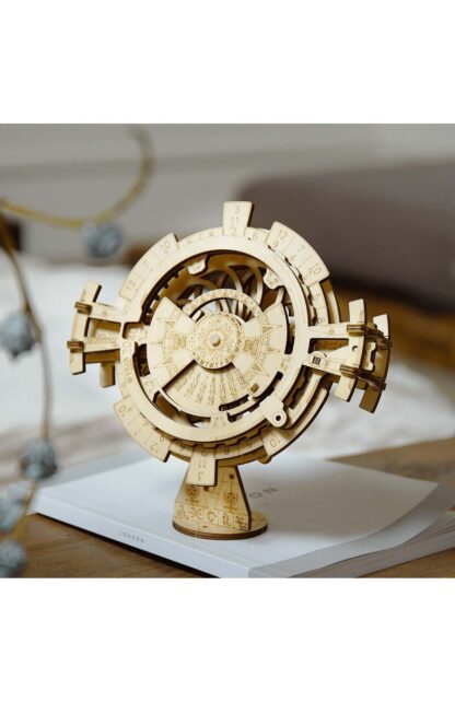 Дерев'яний 3D конструктор Robotime LK201 «Вічний календар»