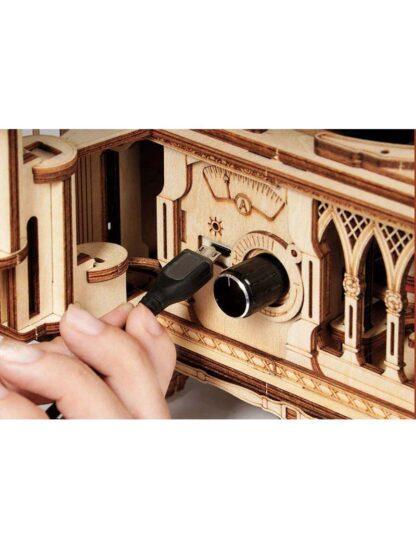 Дерев'яний 3D конструктор Robotime LKB01 «Грамофон»